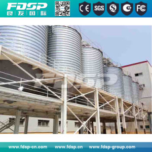 Hopper Bottom Wheat Silo with Steel Structure Building Support pictures & photos