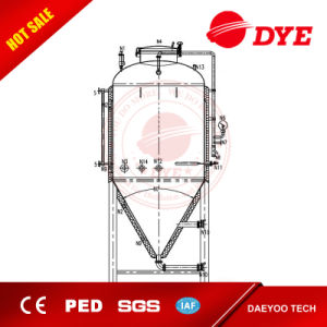 Industrial Stainless Steel Conical Fermentor Beer Equipment Tank pictures & photos