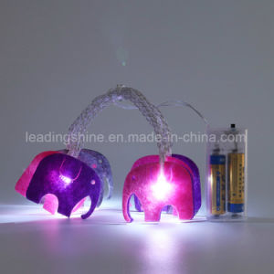 Elephant Decorative Pure White String Light Fairy Light for Home Decoration pictures & photos