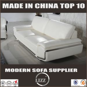 Made in China Hot Sell Genuine Leather Sofa pictures & photos