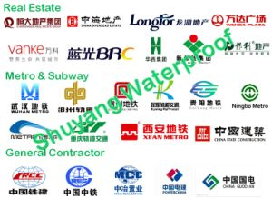 SEP3000 HDPE Waterproof Membrane 1.5mm Sand Film Surface pictures & photos