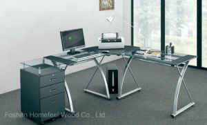 Modern Home Office L Shape Corner Computer Desk (HF-CT3818) pictures & photos