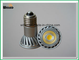 COB 5W LED Spot Light Bulb Jdre Spotlight E27 Ce RoHS Certification with 80lm/W CRI80 for Indoor Use pictures & photos