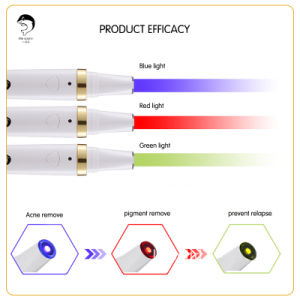 Electronic Acne Remover Laser Acne Treatment Tool Beauty Acne Removal Pen Health Care Phototherapy Thermal Skin pictures & photos
