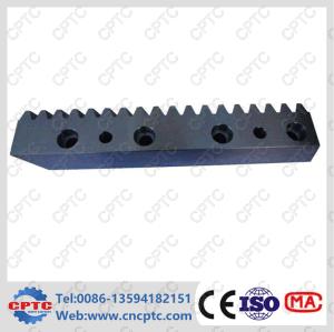 C45 Steel Black Oxide Gear Rack pictures & photos