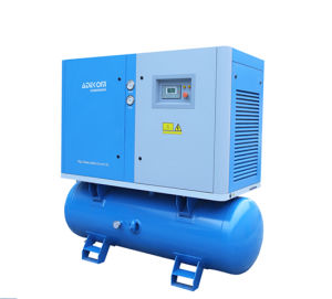 Stationary Rotary Compact Screw Oil Air Cooled Compressor (K3-10D) pictures & photos