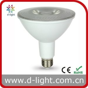 15W Plastic with Aluminum Insde E26 E27 B22 Spotlight PAR38 LED pictures & photos