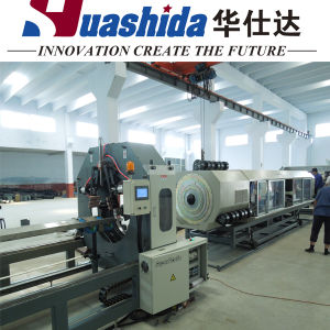 Corrugated Plastic Drain Pipe Extruder Machine pictures & photos