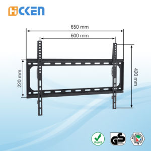 Plasma or LCD Cold Rolled Steel TV Wall Bracket pictures & photos