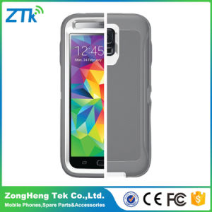 Grey Waterproof Mobile Phone Case for Samsung S5 5.1inch pictures & photos