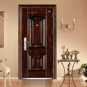 Latest Main Steel Door Design for Exterior Jw-821 pictures & photos