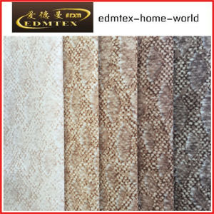 100% Polyester Wholesale Burnout Velvet Upholstery Fabric (EDM-TC101)