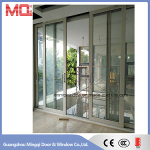 China Aluminum Alloy Tempered Glass Sliding Door pictures & photos