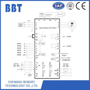 Factory Supply Single Phase 220V 2.2kw Open Loop VFD with Ce pictures & photos
