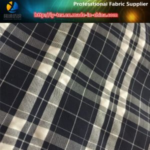 Nylon Polyester Intertexture Yarn Dyed Fabric for Beach Shorts pictures & photos