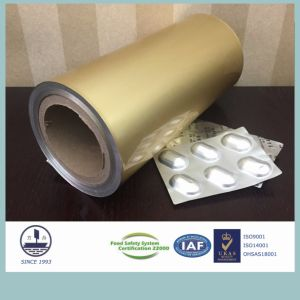 Cold-Stamping Molding Pharmaceutical Aluminum for Packaging Granules (Alloy 8021)