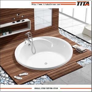 Big Size Round Bathtub Tcb046D pictures & photos