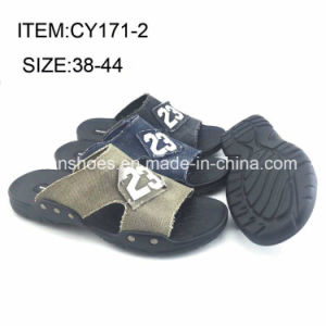 Men Comfortable Shoes Casual Slippers Customized Flip Flop (FFCY0412-02) pictures & photos