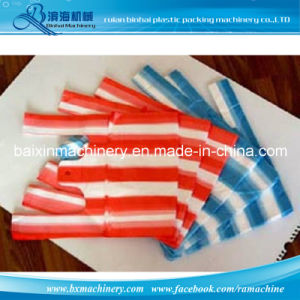 Double Color Striped Film Blowing Machine Garbage Bag Shopping Bags pictures & photos