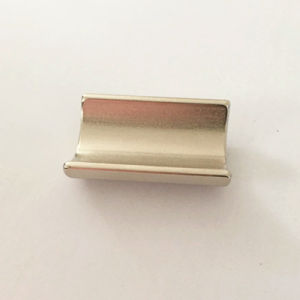 Rare Earth Permanent Arc Neodymium Magnets with Strong Power pictures & photos