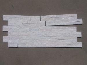 White Quartzite Wall Cladding Panels Stack Stone pictures & photos