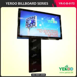 The Newest Design Double Side Outdoor Adverting Scrolling Billboard pictures & photos