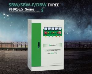 Factory Direct SBW-200kVA Three-Phase Cabinet High-Power Voltage Stabilizer