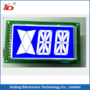 Customerized Stn-LCD with Pin Connector LCD Display USD in Air Condition pictures & photos