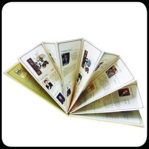 Folded Leaflet Offset Printing Softcover Brochure Custom Brochure Printing pictures & photos
