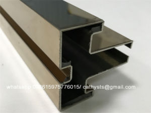 China Supplier Stainless Steel Brushed Steel Edge Profile pictures & photos