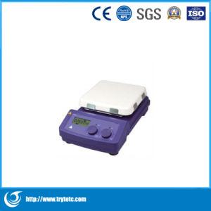 LCD Digital 7 Inch Magnetic Hotplate Stirrer-Digital Magnetic Hotplate Stirrer pictures & photos