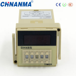 Dh48j LED Display Wide Range Cycle Digital 220V Time Relay pictures & photos