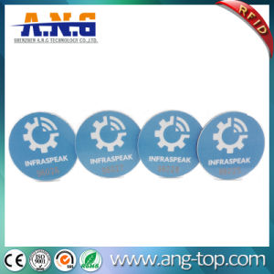 Waterproof Anti-Counterfeiting PVC Hf Passive RFID Disc Tag pictures & photos