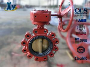 Marine Lug Type Butterfly Valve (Hand Wheel / Worm) pictures & photos