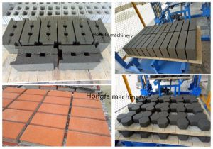 Semi-Automatic Brick Machinery Concrete Block Making Machine (QT4-25C) pictures & photos