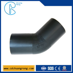 Butt-Welding HDPE Pipe Fitting Elbow pictures & photos