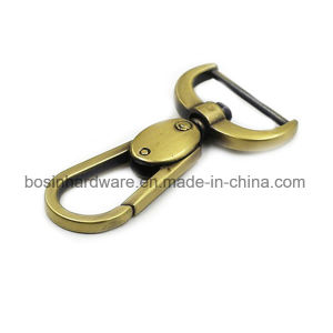 High Quality Antique Brass Metal Bag Snap Hook pictures & photos