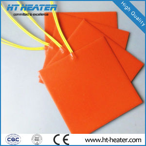 Industrial Flexible Silicone Rubber Heating Blanket/Pad Heater pictures & photos