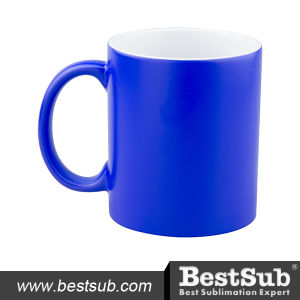 11oz Color Changing Mugs (Blue) W/O Box pictures & photos