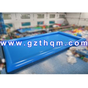 Inflatable Water Pool with UV-Protection Tent Cover/Large Amusement Customized Swimming Pool pictures & photos