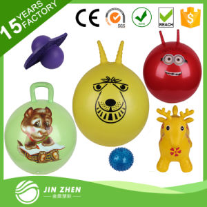 No4-13 Plastic Toys Animals Inflatable Rubber Ball PVC Toy Ball