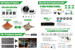 Ipc 1MP/2MP/3MP 1080P Plastic IP Dome Camera (KIP-PM20) pictures & photos