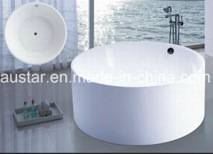 Dia1400mm Round Modern Bathtub (AT-6201) pictures & photos