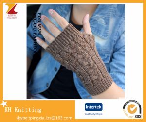 Winter Knitted Arm Sets Fingerless Gloves for Fake Sleeve pictures & photos