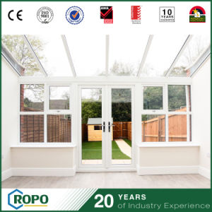 PVC Door Exterior Front Entry Glass French Doors for Balcony pictures & photos
