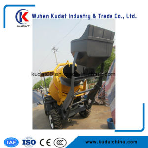 1tons Three Side Discharge Concrete Mixer (SD100M) pictures & photos