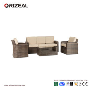 Outdoor Rattan 3-Seater Sofa Set Oz-Or065 pictures & photos
