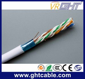 Copper 4p 23AWG Indoor FTP CAT6 Cable pictures & photos