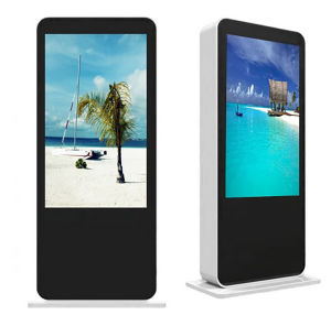"Custom 55"" Floor Standing WiFi Digital Signage LCD Kiosk Totem pictures & photos"