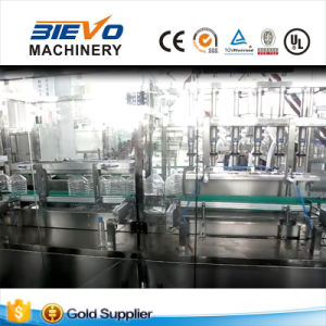 Automatic Linear 5L Bottle Drinking Liquid Water Filling Machine with Packing Labeling pictures & photos